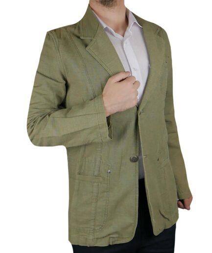 Ανδρικό σακάκι λινό