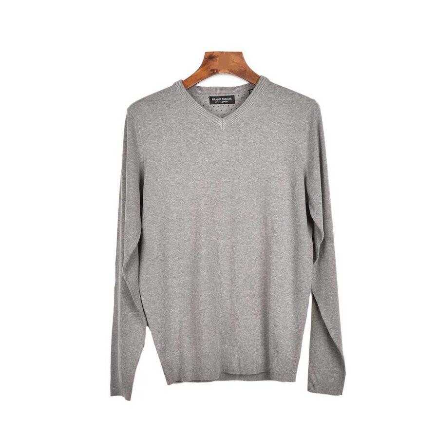 Ανδρική μπλούζα πλεκτή βαμβακερή