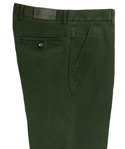 Ανδρικό παντελόνι chinos green