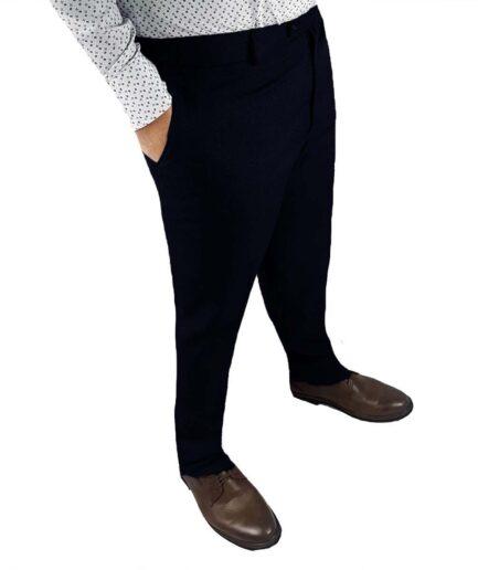 Ανδρικό παντελόνι μάλλινο υφασμάτινο