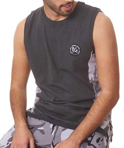 Ανδρική μπλούζα αμάνικη