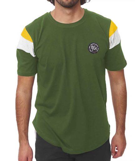 Ανδρική μπλούζα BM1195 χακί