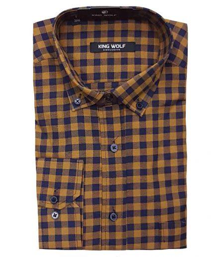 Ανδρικό πουκάμισο καρο