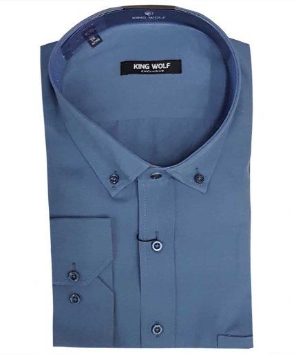 Ανδρικό πουκάμισο βαμβακερό KW