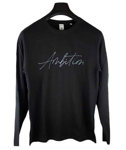 ανδρική μπλούζα CP Ambition μαύρο